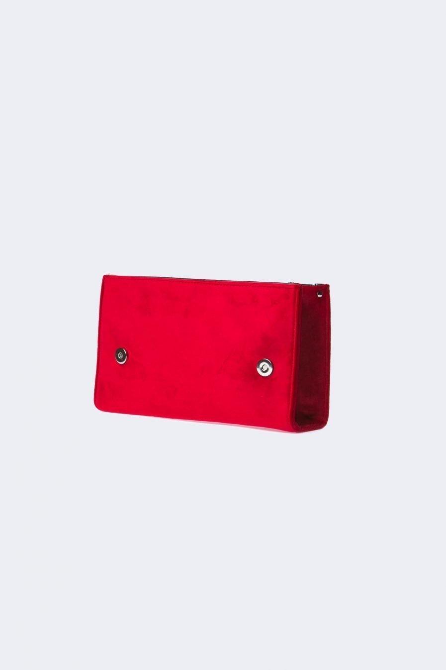 borse personalizzabili - scocca in velluto rosso